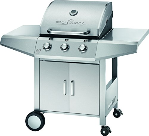 profi cook pc gg 1057 gasgrill 3 brenner