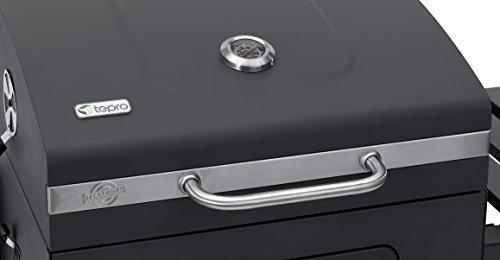 Tepro Toronto Holzkohlegrill Modell 2018 : Tepro toronto xxl abdeckhaube accessories grillwagen